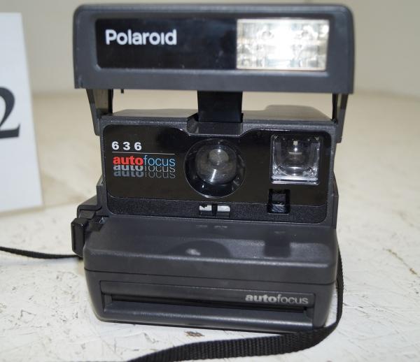 polaroid 636 autofocus sofortbildkamera retro kamera ebay. Black Bedroom Furniture Sets. Home Design Ideas