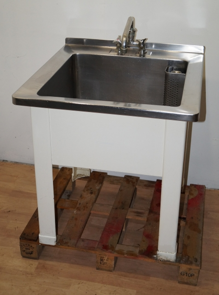 hochwertiges gastro gem se waschbecken edelstahl sp le waschtisch ebay. Black Bedroom Furniture Sets. Home Design Ideas