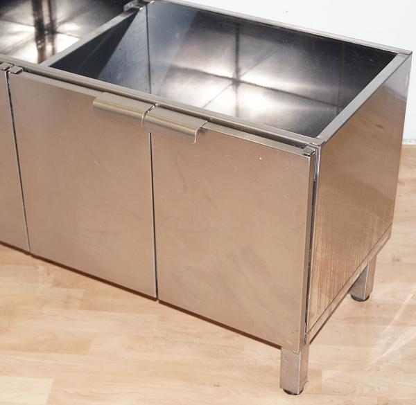 gastro unterbau ger teschrank unterschrank edelstahl 4 t rig arbeitsschrank ebay. Black Bedroom Furniture Sets. Home Design Ideas