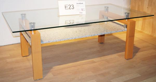 couchtisch wohnzimmer tisch glastisch beistelltisch buche dekor glas granit neu ebay. Black Bedroom Furniture Sets. Home Design Ideas